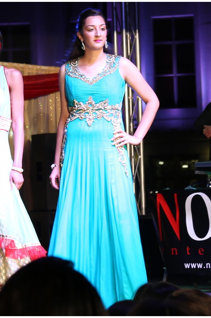 Bridal Sea Green Evening Gown
