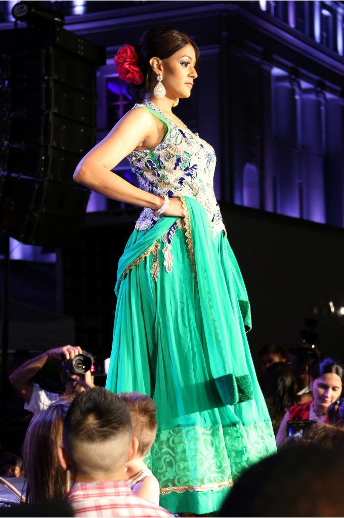 Bridal Green Anarkali Suit