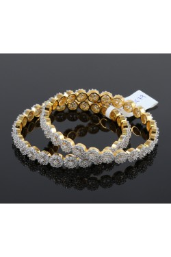 Gorgeous American Diamond Studded Bangles