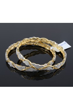 Cubic Zirconia Studded Bangles