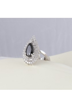 CZ Stone Studded Adjustable Ring