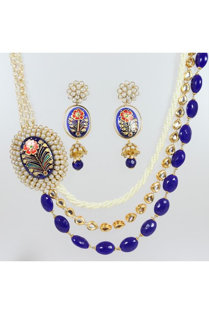 Fusion Multi Layered Necklace Set