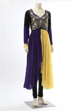 Shaded Anarkali Flair Kurti